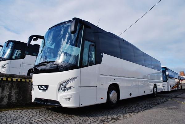 Nový prodaný autobus společnosti EICHLERBUS, Dačice 2017 (foto: Zdeněk Nesveda)