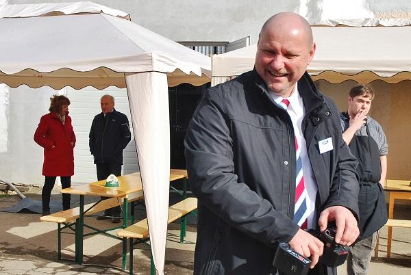 Pavel  Schlosser, šéf českého zastoupení VDL Bus & Coach, Dačice 2017 (foto: Zdeněk Nesveda)