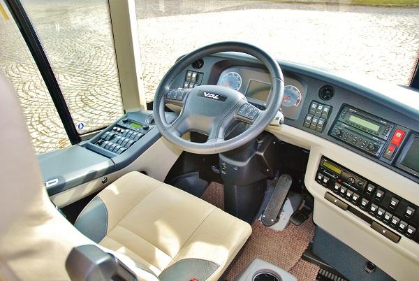 Patrový luxusní autokar VDL Futura2 FDD2 141-510. Dačice 2017 (foto: Zdeněk Nesveda)