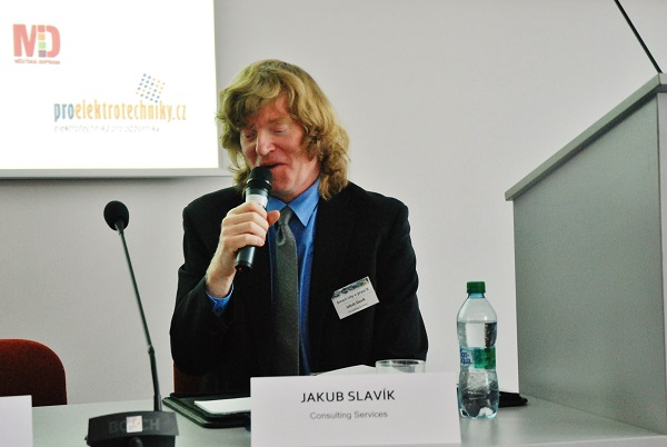 Ing. Jakub Slavík MBA autor projektu odborných konferencí SMART CITI V PRAXI, (foto: Zdeněk Nesveda)