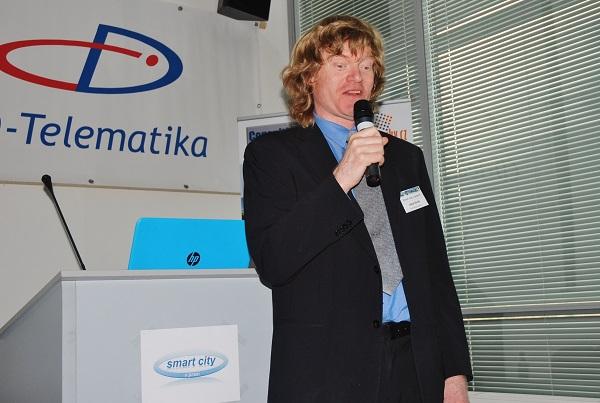 Majitel firmy a její hlavní konzultant Jakub Slavík byl zároveň odborným garantem konference (foto: Zdeněk Nesveda)