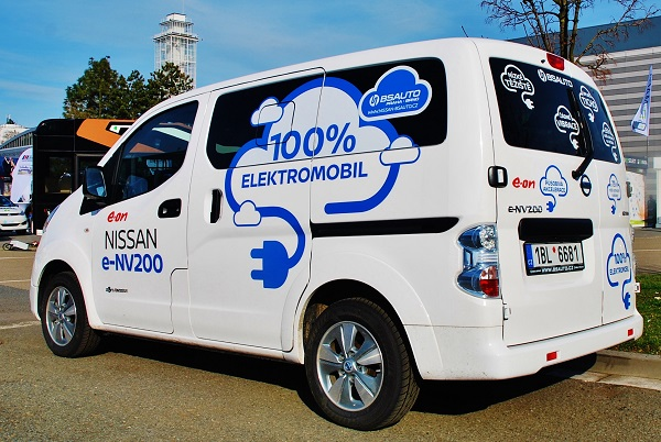 Dodávkový elektromobil Nissan e - NV 200 (foto: Zdeněk Nesveda)
