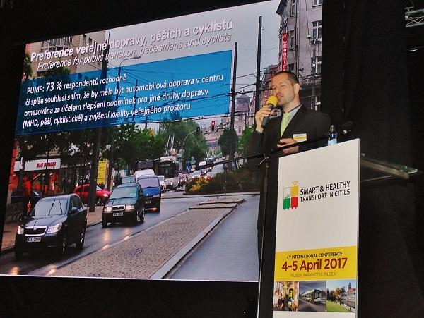 Ing. Jiří Kohout, Ph.D. MBA, Chytrá a zdravá doprava ve městech (foto: Zdeněk Nesveda)