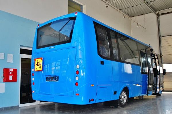 Hotový autobus připravený na předání zákazníkovi (foto: Zdeněk Nesveda)