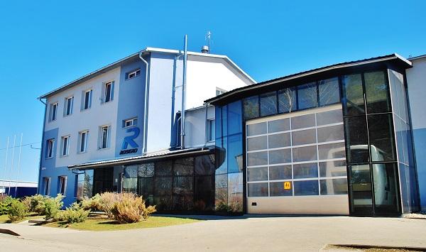 Sídlo společnosti ROŠERO - P ve Spišské Nové Vsi (foto: Zdeněk Nesveda)
