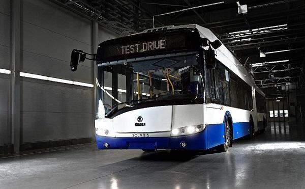 Padesát nových moderních trolejbusů Škoda pro hlavní město Lotyšska Rigu (foto: škoda Electric)