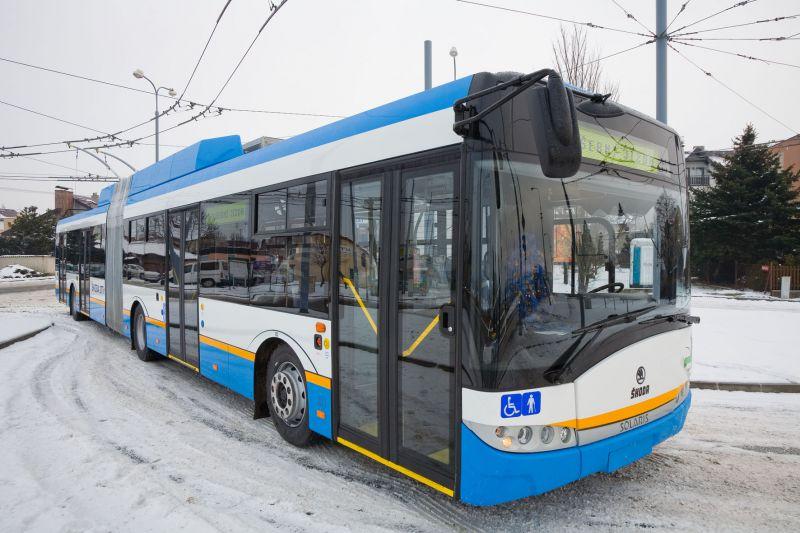 Škoda Electric vyrobí dvanáct nových moderních nízkopodlažních trolejbusů pro město Ostrava. (Foto: Škoda Electric)