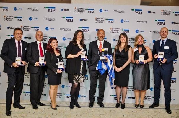 Slavnostní předání cen The European Business Awards 2016/17 (foto: DPP)