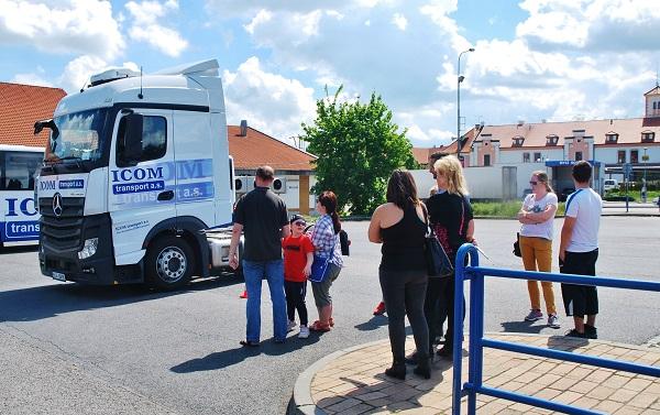 DNY S ICOM transport 2017 ve Slaném (foto: Zdeněk Nesveda)