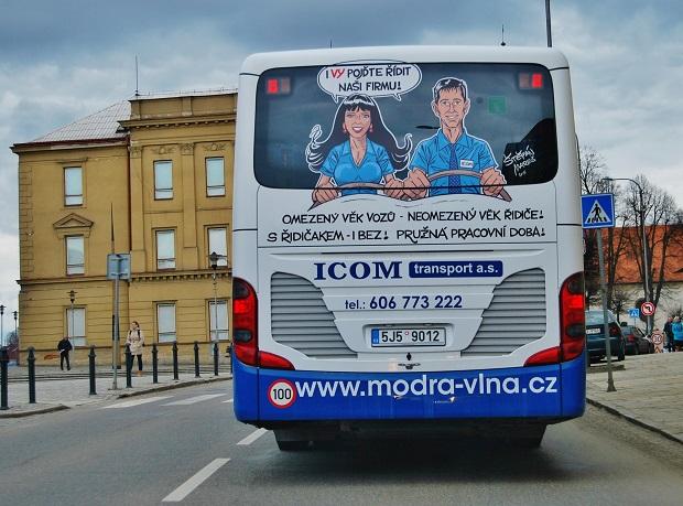 Den s ICOM transport (ilustrační foto: Zdeněk Nesveda)