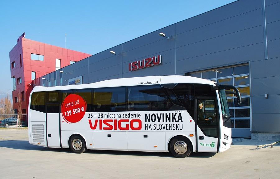 ISUZU VISIGO před servisním centrem TURANCAR v Nitře (foto: Zdeněk Nesveda)