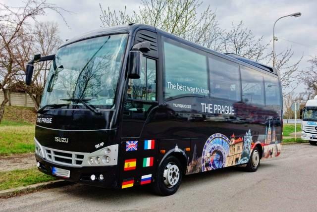 Prodej ojetých autobusů ISUZU, model TURQUISE Euro 4 (foto: TURANCAR)