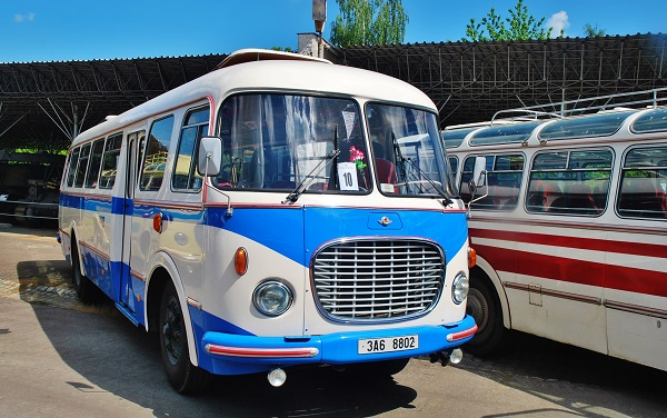 Škoda 706 RTO KAR - Jan Dušek (foto: Zdeněk Nesveda)