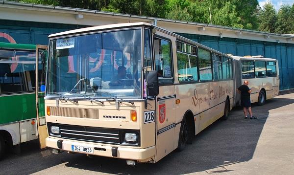 Karosa B 741 - (foto: Zdeněk Nesveda)