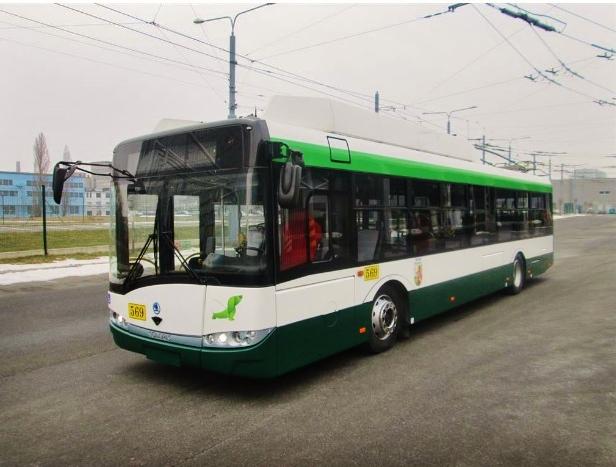 Nové parciální trolejbusy Škoda - Solaris v Plzni (foto: PMDP)