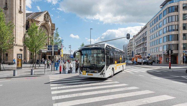 Dopravce Sales-Lentz zde začal provozovat čtyři elektrobusy Volvo 7900 Electric (foto: VOLVO)