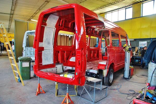 KHMC bude vyrábět více malých autobusů Mercedes (foto: Zdeněk Nesveda)