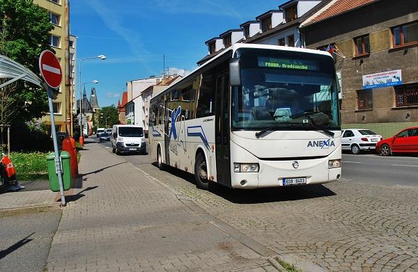 Odbavovací zařízení pro linkové autobusy OCC Synergy z Mikroelektroniky v praxi (foto: Zdeněk Nesveda)