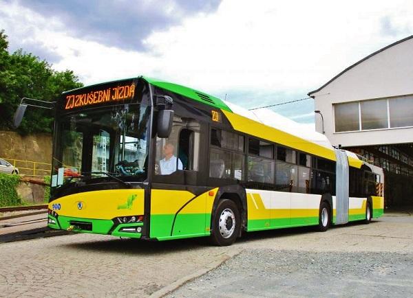 Trolejbus Škoda 27 Tr s karoserií Solaris New Urbino (foto: Škoda Electric)
