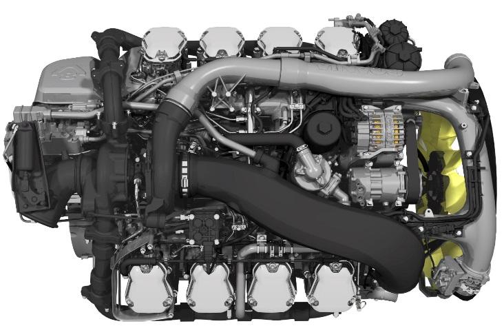Nová generace motorů V8 od společnosti Scania  (foto: Scania)
