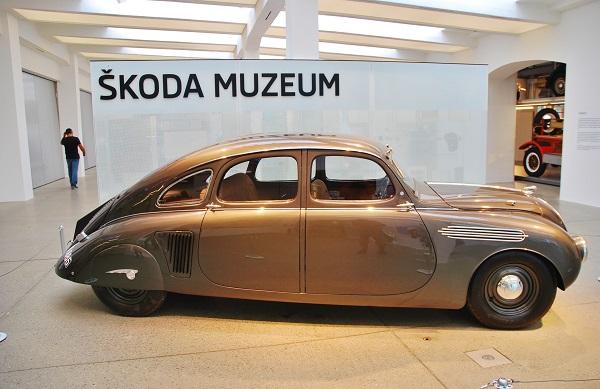 ŠKODA 935 DYNAMIC - ŠKODA Muzeum Mladá Boleslav 2017 (foto: Zdeněk Nesveda)