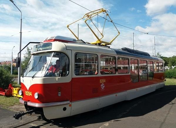 Zmodernizovaná tramvaj T3, legenda vyráběná v 60. – 90. letech minulého století v pražském ČKD Tatra. (foto:DPP)