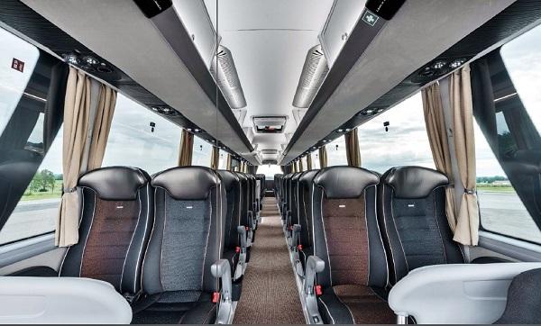 Nejnovější model zájezdového autokaru MAN Lion's Coach (foto: MAN)