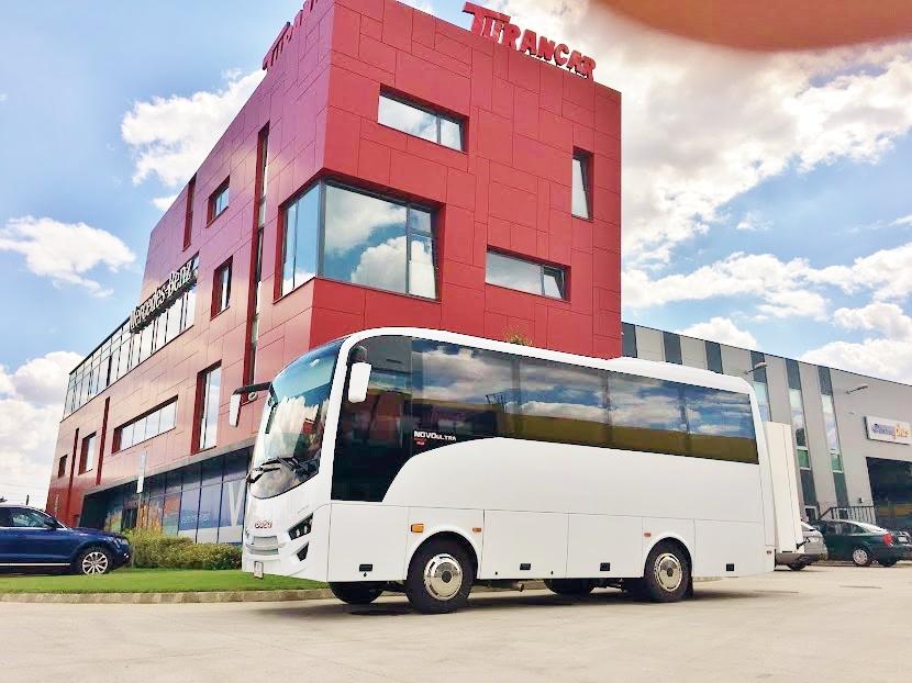 TURANCAR SK Nitra, jedno z nejmodernějších evropských servisních center pro autobusy značky Mercedes - Benz, Setra a ISUZU (foto: Viktor Wiesner)