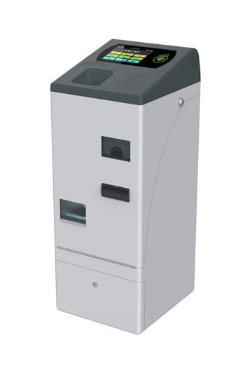 Kompaktní automat MVB je vysoce univerzální zařízení. Může fungovat jako klasický automat na výdej jízdenek, nebo jako výdejní zařízení u řidiče, případně může zastat funkci validátoru (foto: Mikroelektronika