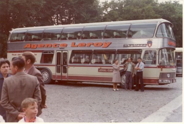 """Úspěšná """"symbióza"""" belgického autobusového dopravce Voyages Leroy s autobusy NEOPLAN Skyliner ("""