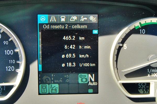 Průměrná spotřeba 18,3 l/100km u modelu S 515 HD (foto: Zdeněk Nesveda)