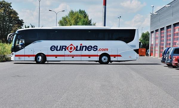 Náhodné foto pořízené na dvoře společnosti EvoBus. S 515 HD využívané na mezinárodních linkách EuroLines (foto: Zdeněk Nesveda)