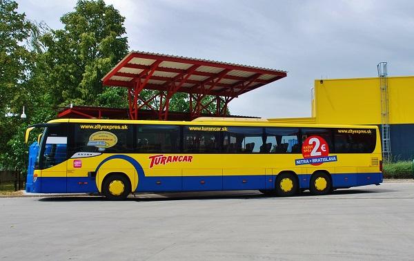 Vnitrostátní a mezinárodní doprava TURANCAR provozovaná autobusy Setra (foto: Zdeněk Nesveda)
