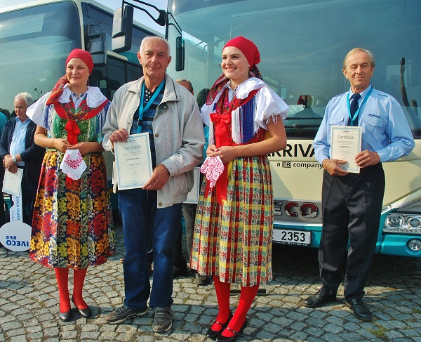 Dvaapůlmilionáři, vlevo pan František Tichý vpravo pan Josef Kraus (foto: Zdeněk Nesveda)
