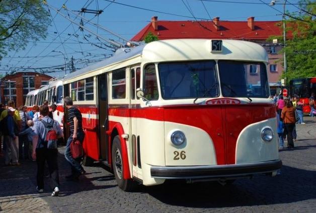 Oslavy 65 let provozu trolejbusů v Ostravě (ilustrační foto: DPO)