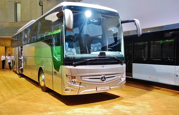 Nový Mercedes - Benz Tourismo L (foto: Zdeněk Nesveda)