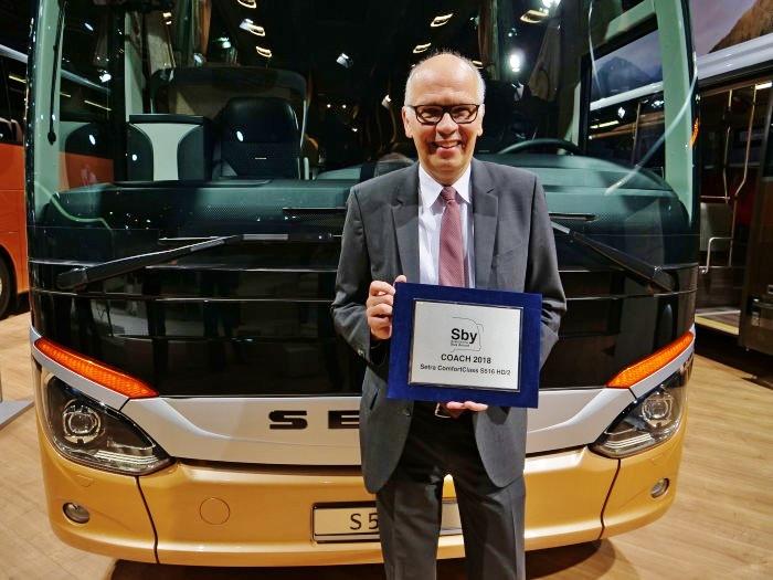 Ulrich Bastert, vedoucí oddělení marketingu, prodeje a služeb zákazníkům Daimler Buses (foto: Daimler)