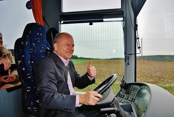 Zdeněk Kratochvíl, generální ředitel ICOM transport (foto: Zdeněk Nesveda)