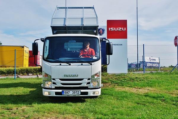 ISUZU – M21 ADAPTOR 1.9l euro 6b třístranný sklápěč OSONA (fot: Zdeněk Nesveda)