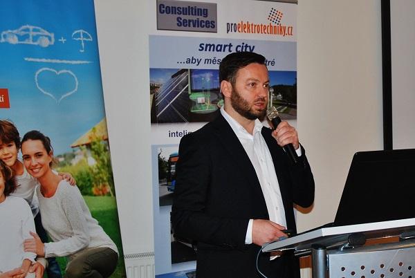 Ondřej Tomšej: Podpora elektromobility pro podnikatelské subjekty (OP PIK) (foto: Zdeněk Nesveda)