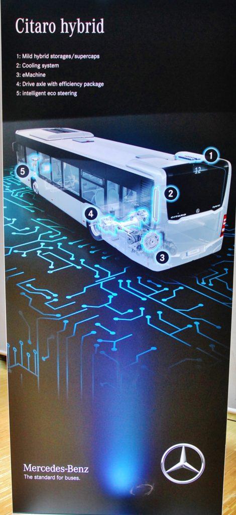 Příchod Citara hybrid otevírá pro Mercedes-Benz zcela novou kapitolu pohonů městských autobusů (foto: Zdeněk Nesveda)