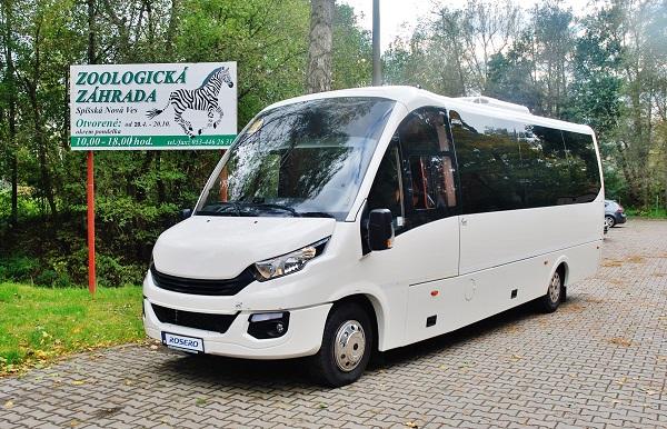 Školní autobus ROŠERO (foto: Zdeněk Nesveda)