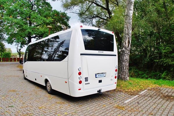 Rošero First 2017, školní autobus, export do Francie (foto: Zdeněk Nesveda)