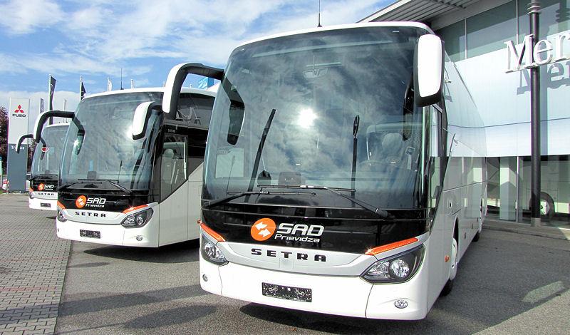 Celosvetovo 15-tisíci autobus Setra radu ComfortClass (foto: Olga Kováčová BUSportál SK)