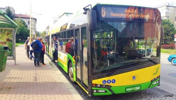 Trolejbus je stále v skúšobnej prevádzke, pričom Dopravný podnik monitoruje podmienky prevádzky ( foto: DPMŽ)