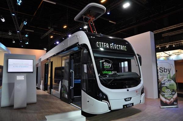 VDL Citea SLFA-181 Electric získala prestižní ocenění Sustainable Urban Bus 2018 (foto: VDL)