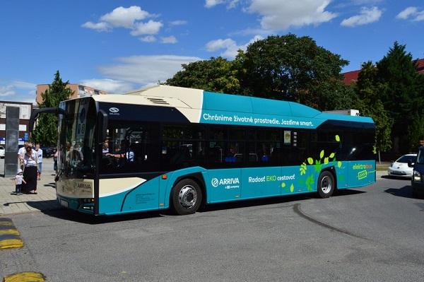 Arriva Šala: elektrobus Škoda - Solaris (foto: Solaris)