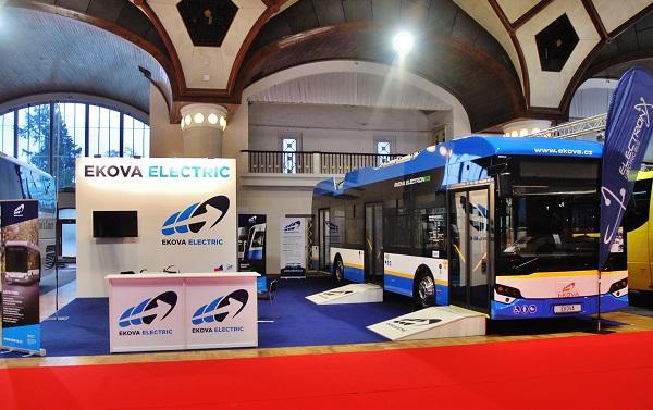 EKOVA ELECTRIC, hlavní partner konference Elektrické autobusy pro město na veletrhu CHECHBUS 2017 (foto: Zdeněk  Nesveda)