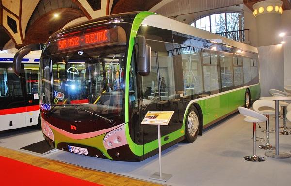 Elektrobusy na veletrhu CZECHBUS 2017 (foto: Zdeněk