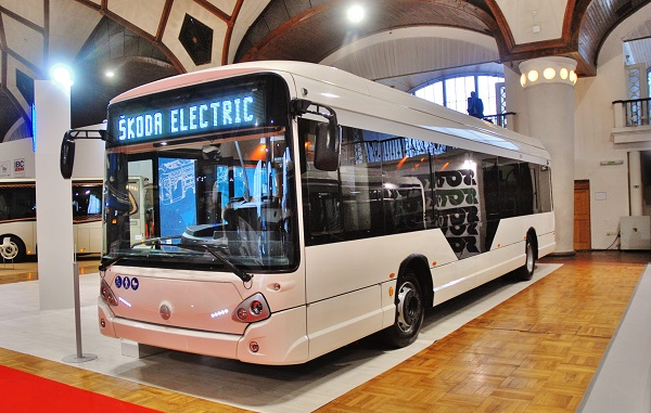 Elektrobusy na veletrhu CZECHBUS 2017 (foto: Zdeněk)